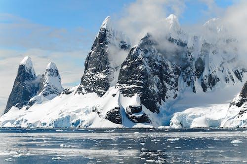 Бесплатное стоковое фото с Антарктида, вода, гора, горы