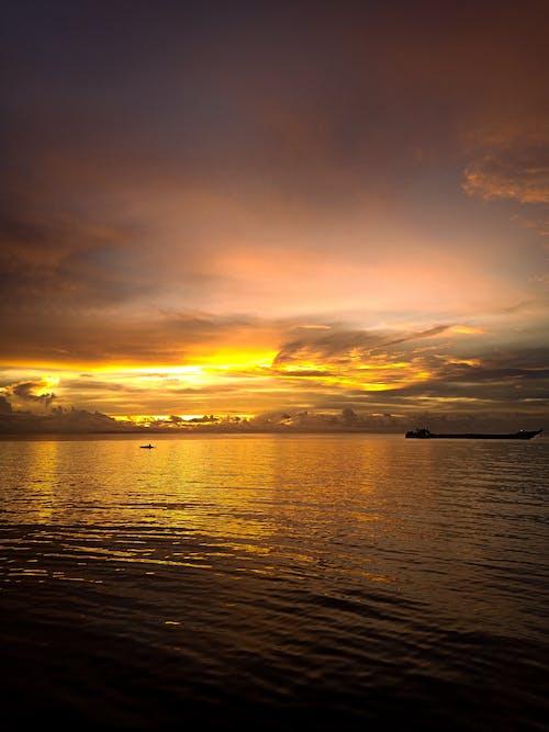 Free stock photo of beach sunset, beautiful sunset, early sunrise
