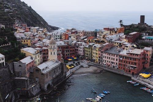 Бесплатное стоковое фото с cinque terra, архитектура, вид