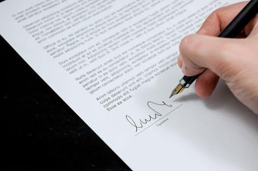 Free stock photo of businessman, person, hand, sign