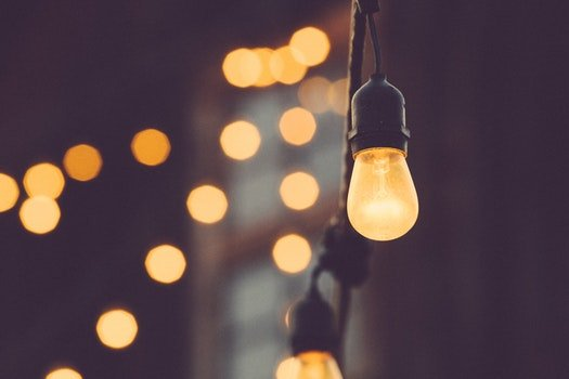 Free stock photo of lights, party, evening, light bulb