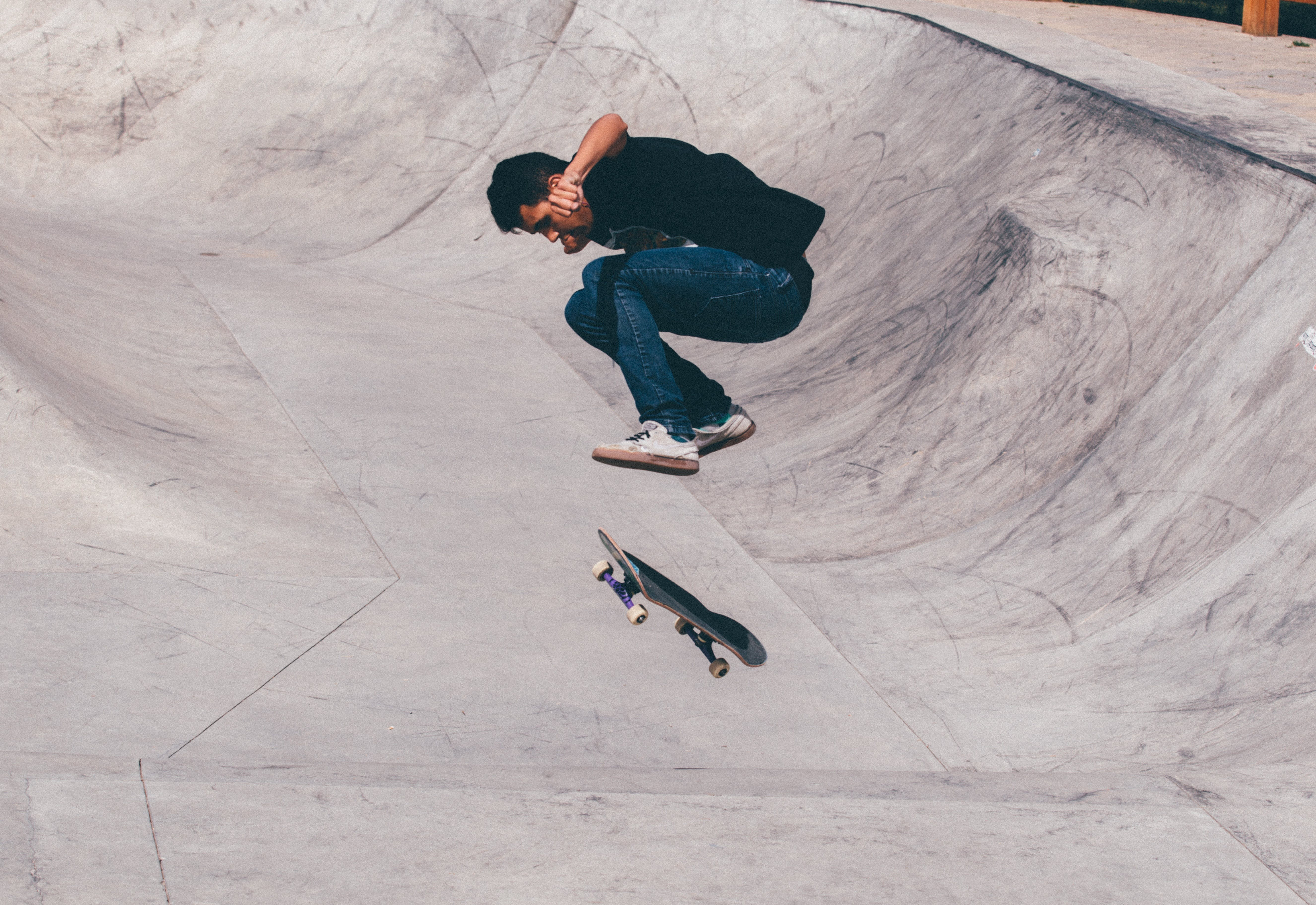 Free stock photo of summer, sport, young, skateboard