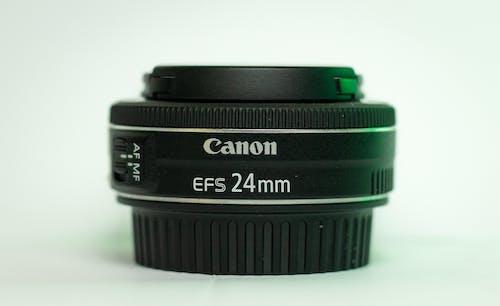 Black and Green Nikon Camera Lens