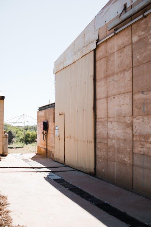 Fotobanka sbezplatnými fotkami na tému bariéra, betón, budova