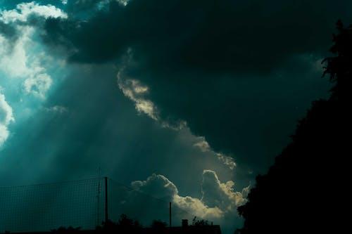 Darmowe zdjęcie z galerii z błyskawica, burza, burza z piorunami, ciemny