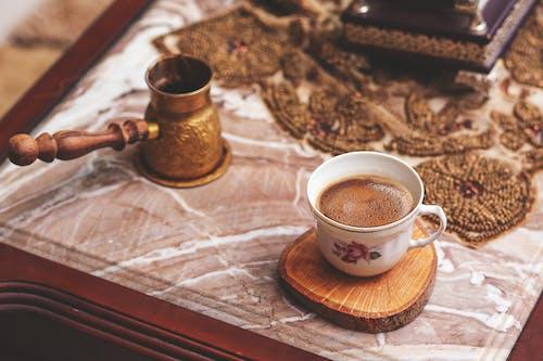 エスプレッソ, カップ, カフェインの無料の写真素材