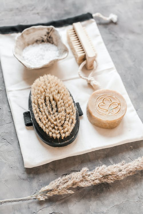 Eco friendly set products for bathroom