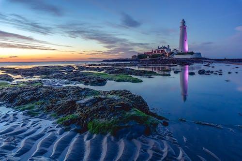 Darmowe zdjęcie z galerii z jasny, krajobraz, latarnia morska