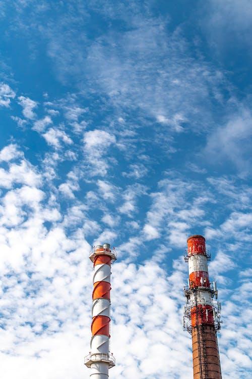 Photos gratuites de air, atmosphère, atomique, bâtiment