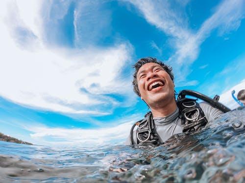 Foto profissional grátis de água, ao ar livre, atividade física, ativo
