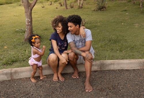 Základová fotografie zdarma na téma afroamerické rodiny, batole, černá rodina