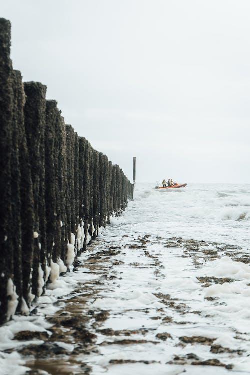 Gratis lagerfoto af båd, betaler-bas, bevægende hav, cadzand
