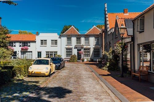 Gratis lagerfoto af arkitektur, betaler-bas, europa, falmet blik