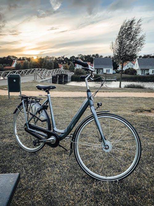 Gratis lagerfoto af arkitektur, betaler-bas, cadzand, cykel