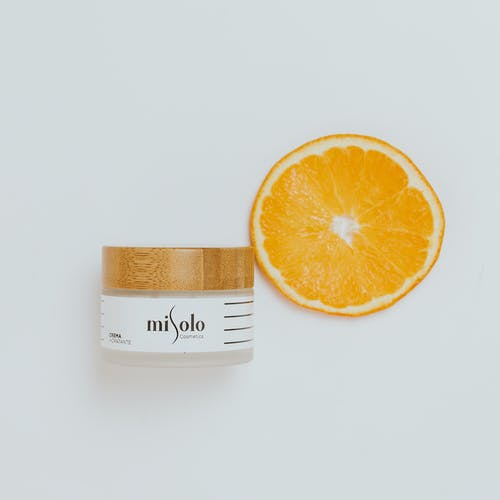 Orange and beauty product
