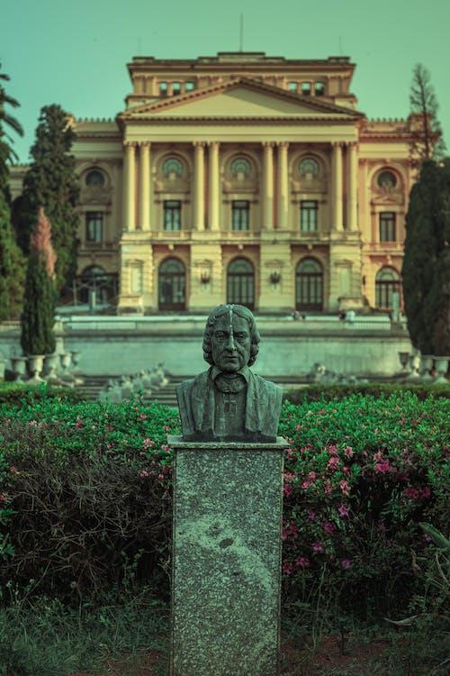 A Sculpture in front of the Museu Do Ipiranga