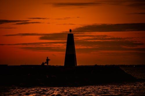 Gratis lagerfoto af abstrakt baggrund, baggrundslys, gylden solnedgang, kunst baggrund