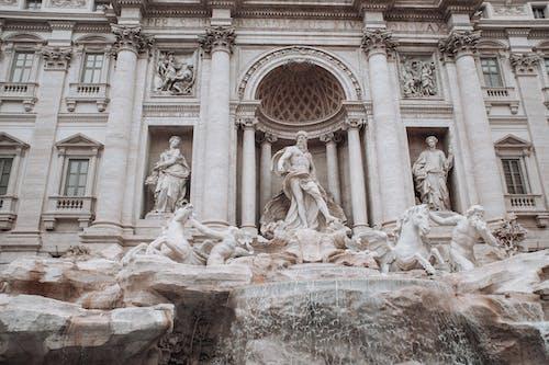 Δωρεάν στοκ φωτογραφιών με trevi, άγαλμα, ανάγλυφο