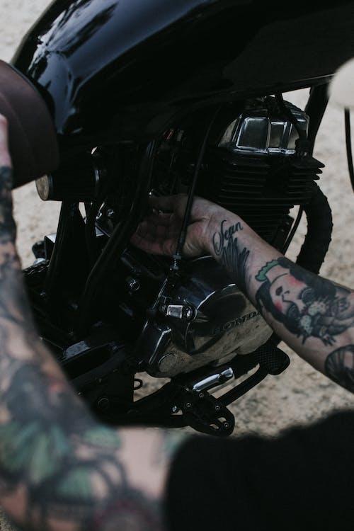 エレメント, オートバイ, おとこ, コンテンポラリーの無料の写真素材