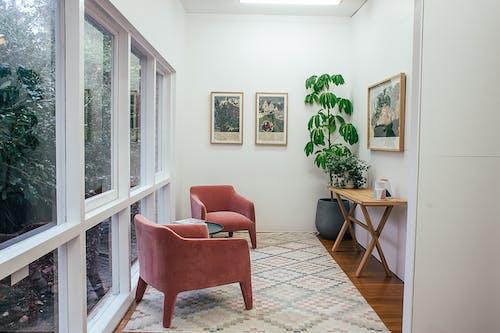 Gratis stockfoto met afbeelding, appartement, armstoel