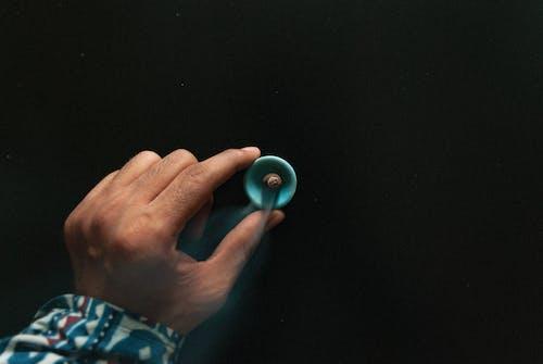 Free stock photo of blue, burning, circle, dark