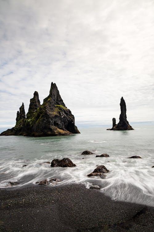Darmowe zdjęcie z galerii z burza, długowieczność, fala, islandia