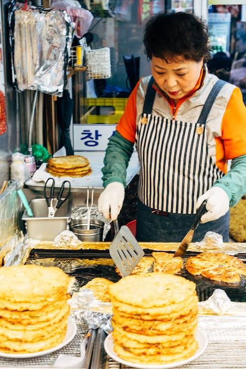 Gratis lagerfoto af asiatisk kvinde, cuisine, gademarked