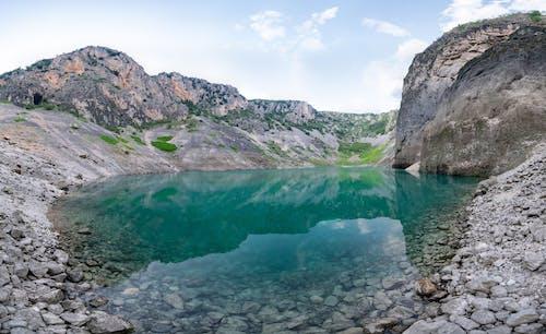 Free stock photo of blue lake, blue lake imotski, imotski