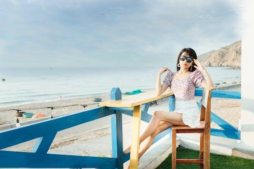 Бесплатное стоковое фото с беззаботный, берег, берег моря