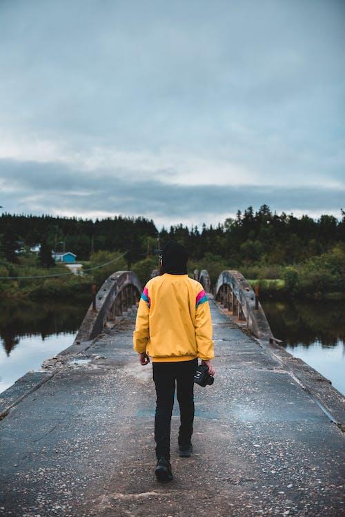 강, 경치, 고독, 날씨의 무료 스톡 사진