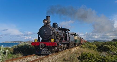Free stock photo of steam locomotive