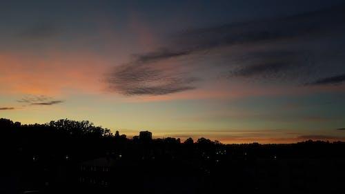 Gratis arkivbilde med solnedgang utsikt