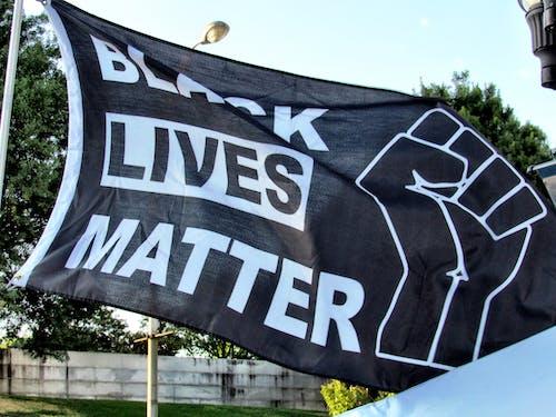 Free stock photo of black lives matter, flag, protest