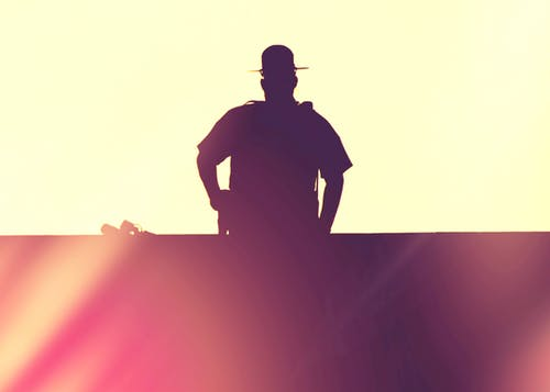 Free stock photo of black lives matter, police officer, silhouette