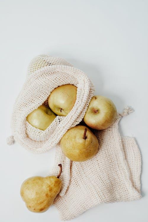 Pears on a Burlap Bag