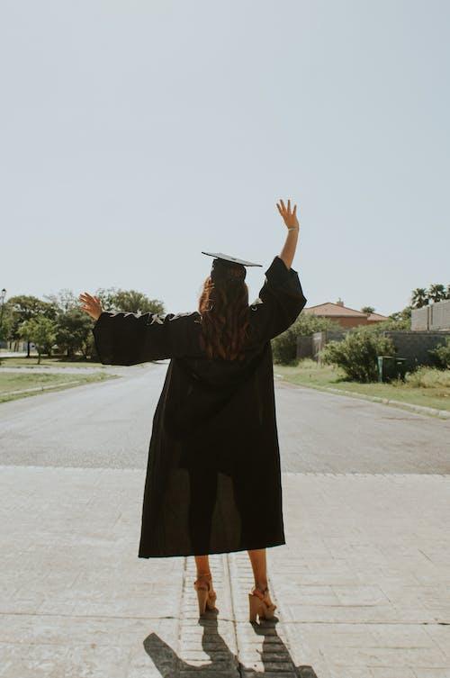 Бесплатное стоковое фото с академическая одежда, амбиция, Анонимный