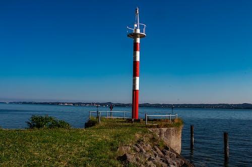 Free stock photo of felsigen strand, horizont, küste, leuchtturm