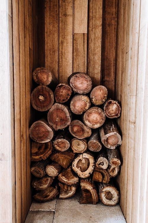Brown Wooden Door With Brown Wooden Door