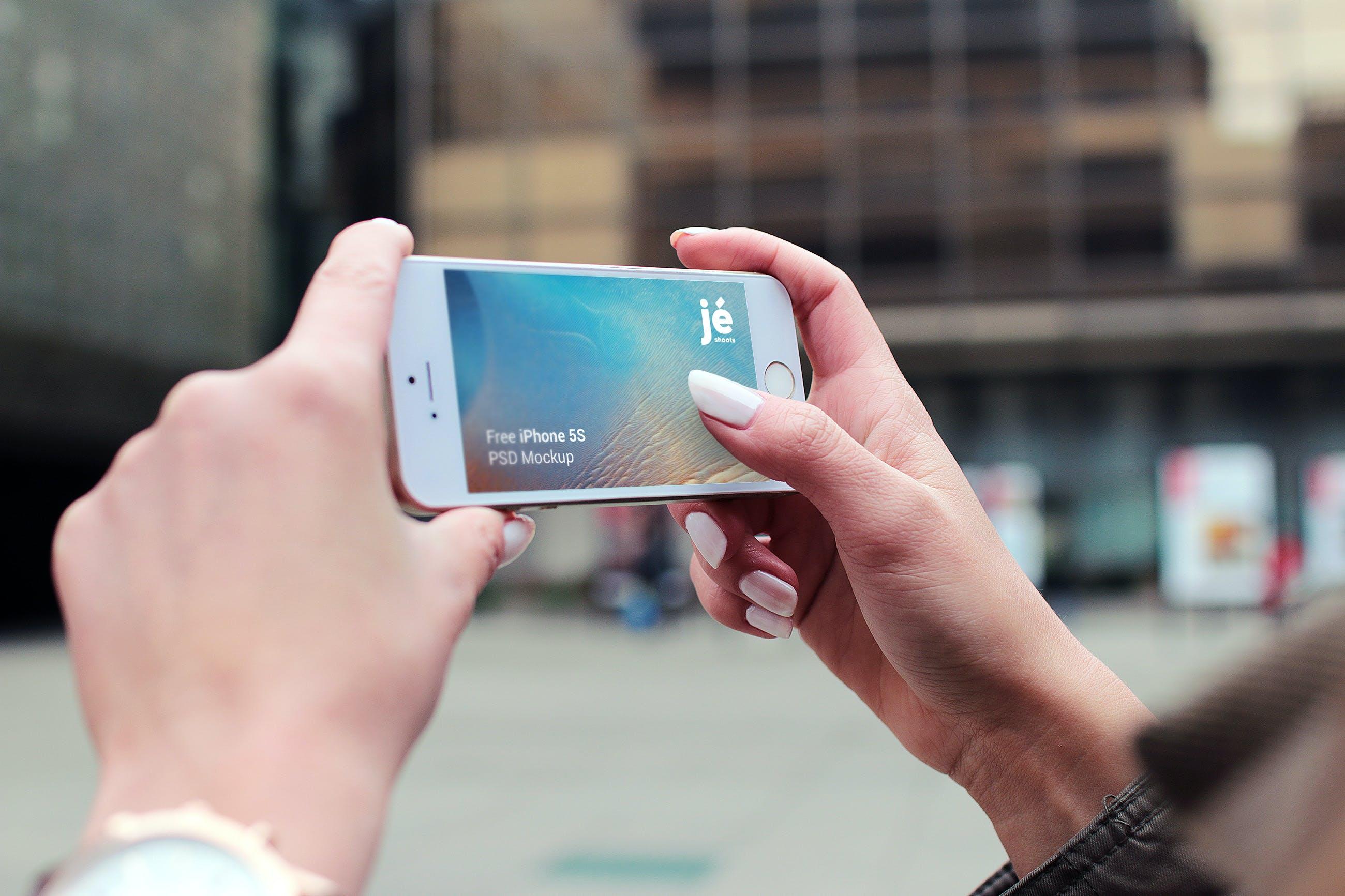 Kostenloses Stock Foto zu hände, apfel, iphone, smartphone