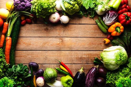 Δωρεάν στοκ φωτογραφιών με flatlay, αγγούρια, ανάμεικτα λαχανικά