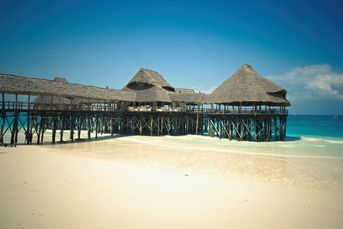 Playa, Zanzíbar, Tanzania, Paraíso