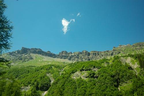 Kostenloses Stock Foto zu alpen, berge, himmel, klarer himmel