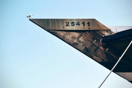 Kostenloses Stock Foto zu boot, schiff, architektur, nummern