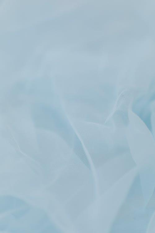 Close Up Shot of Blue Textile