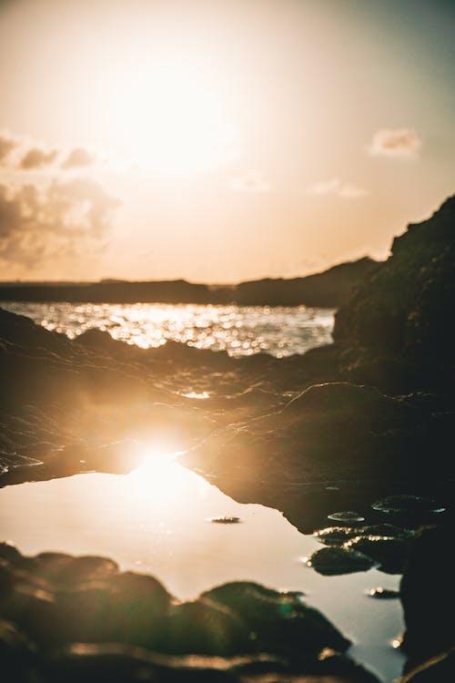 Бесплатное стоковое фото с аквамарин, берег, берег моря, бесшумный