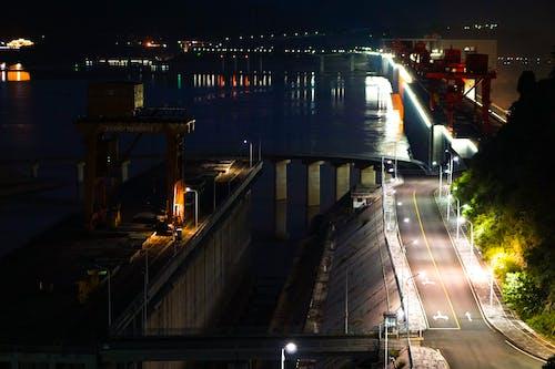 Free stock photo of china, dam, green energy