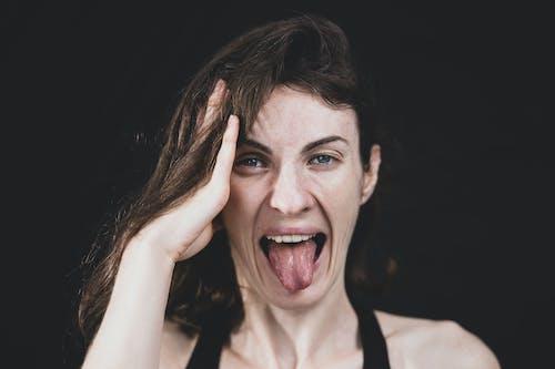 Free stock photo of adult, beautiful, beauty, black background