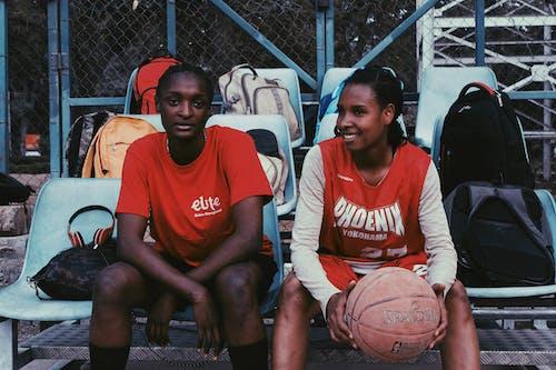 คลังภาพถ่ายฟรี ของ sportswomen, กั้นรั้ว, การฝึก