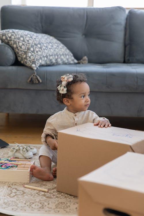 Kostenloses Stock Foto zu box, container, drinnen, erwachsener
