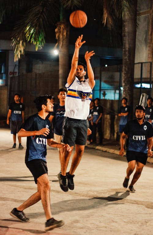 Free stock photo of basketball, basketball basket, basketball court